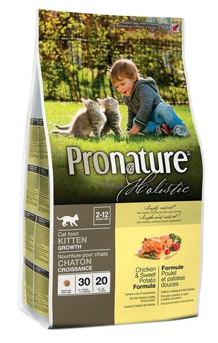 Pronature Holistic CAT Kitten Kana & bataatti 2,72 kg