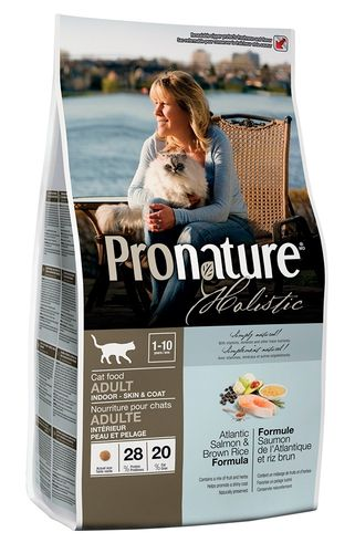 Pronature Holistic CAT Atlantin lohi & tumma riisi 2,72 kg