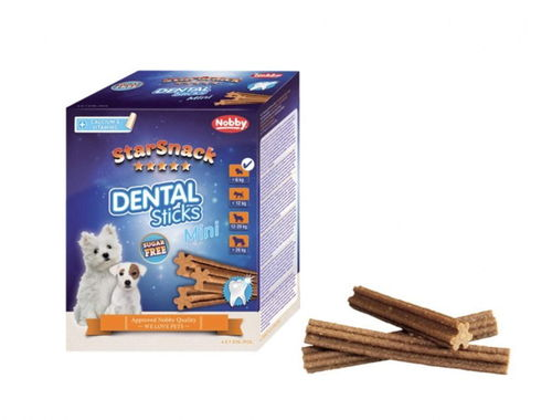 Nobby Starsnack Dental sticks Mini 28 kpl, 252g