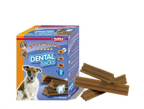Nobby Starsnack Dental Sticks Small 28 kpl, 400g