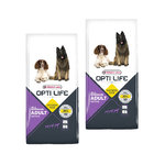 Opti Life Adult Active All Breeds 2 x 12,5kg