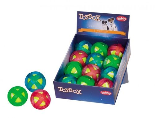 Nobby TPR Ball-in-ball -pallo, 9cm